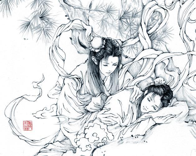 中秋节儿童简笔绘画
