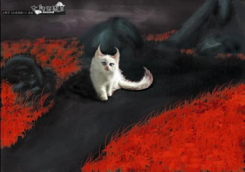 手绘冥灵妃子变色猫-《新大话西游2》官方网站—中国
