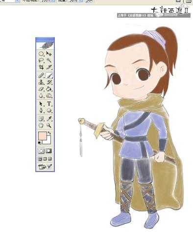 [辰仲出品]剑侠客的制作过程