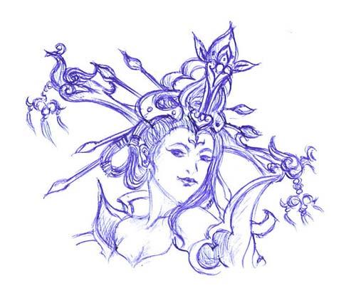 蔷尚logo设计