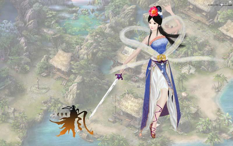 玩家手绘:大话西游2-玄剑娥