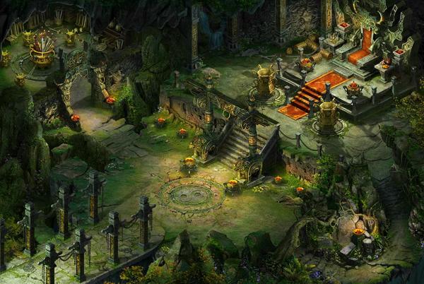 新地图游戏内场景图_《大话西游2经典版》官方网站—
