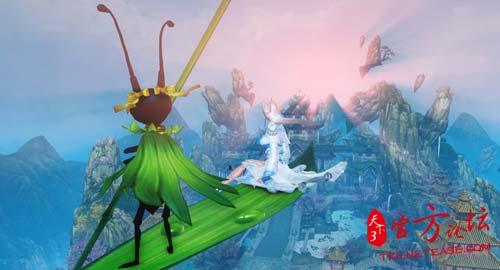 遨游天地间,灵气载我行-新坐骑 一叶扁舟 实拍展示 国风幻想 史诗世界图片