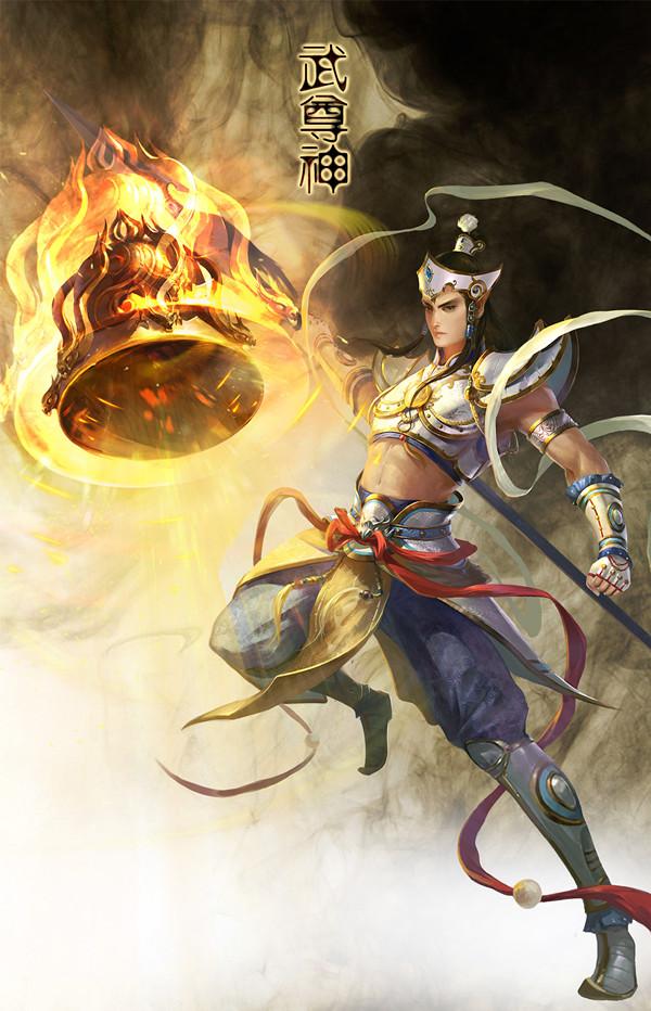 灵宝系统海报-武尊神
