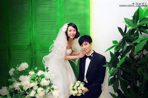 玩家甜蜜结婚照