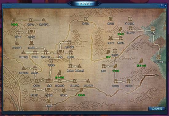 网游动物园地图