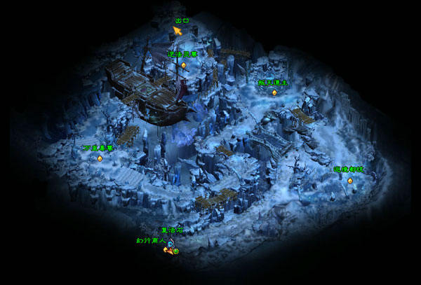 冰风洞地图