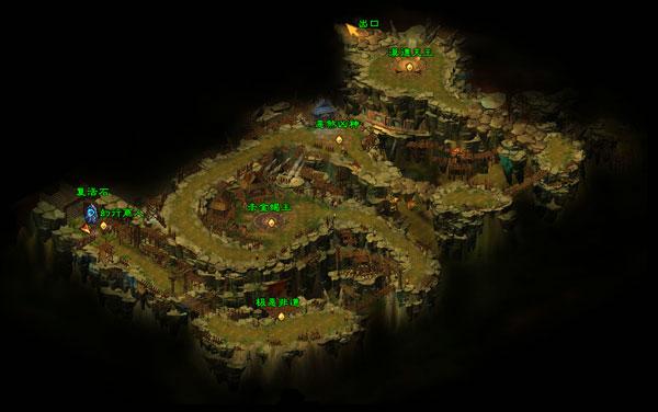 恶人谷地图