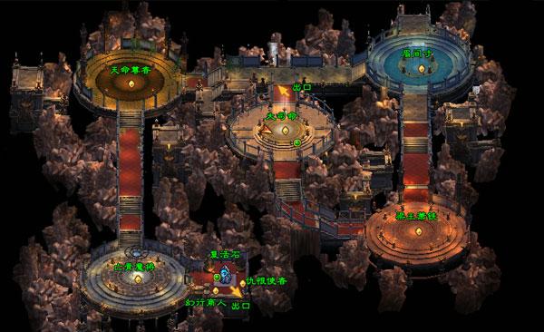 五灵坛地图