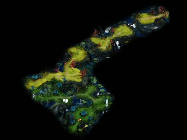 天池左路地图