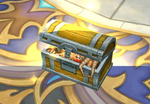 宝箱每个家族成员都可以开启的哦~