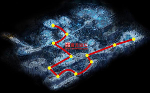寒晶池漠北行走路线