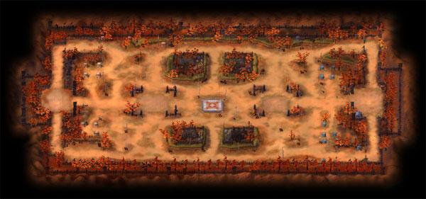 物资战场地图