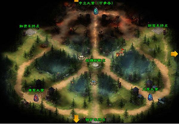 阴山战场地图