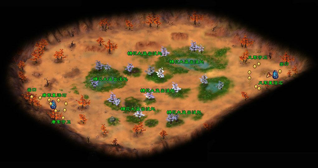 落雪岭地图