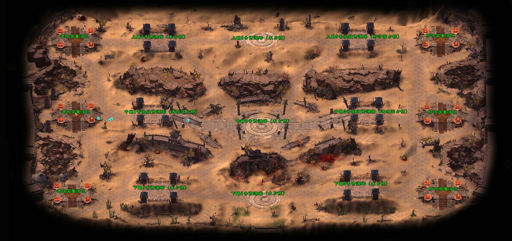 河西马场地图