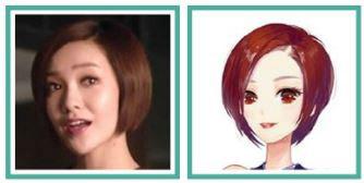 SMILE TOUCH技术下小时代人物表情对比图