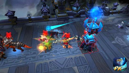 《乱斗西游》跨服武斗大会 三大玩法对战图