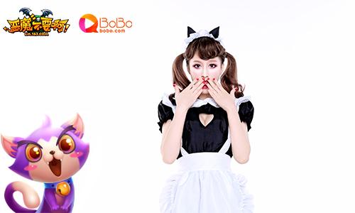 《恶魔不要啊》BoBo代言人兰妹妹 演绎性感猫女郎