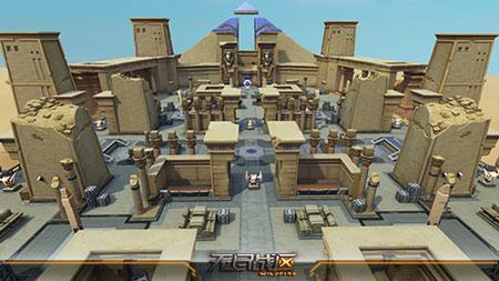 《无尽战区》5V5流沙遗迹战场全景展示