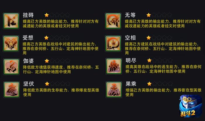 打造平衡战场,《乱斗西游2》新推八大经文